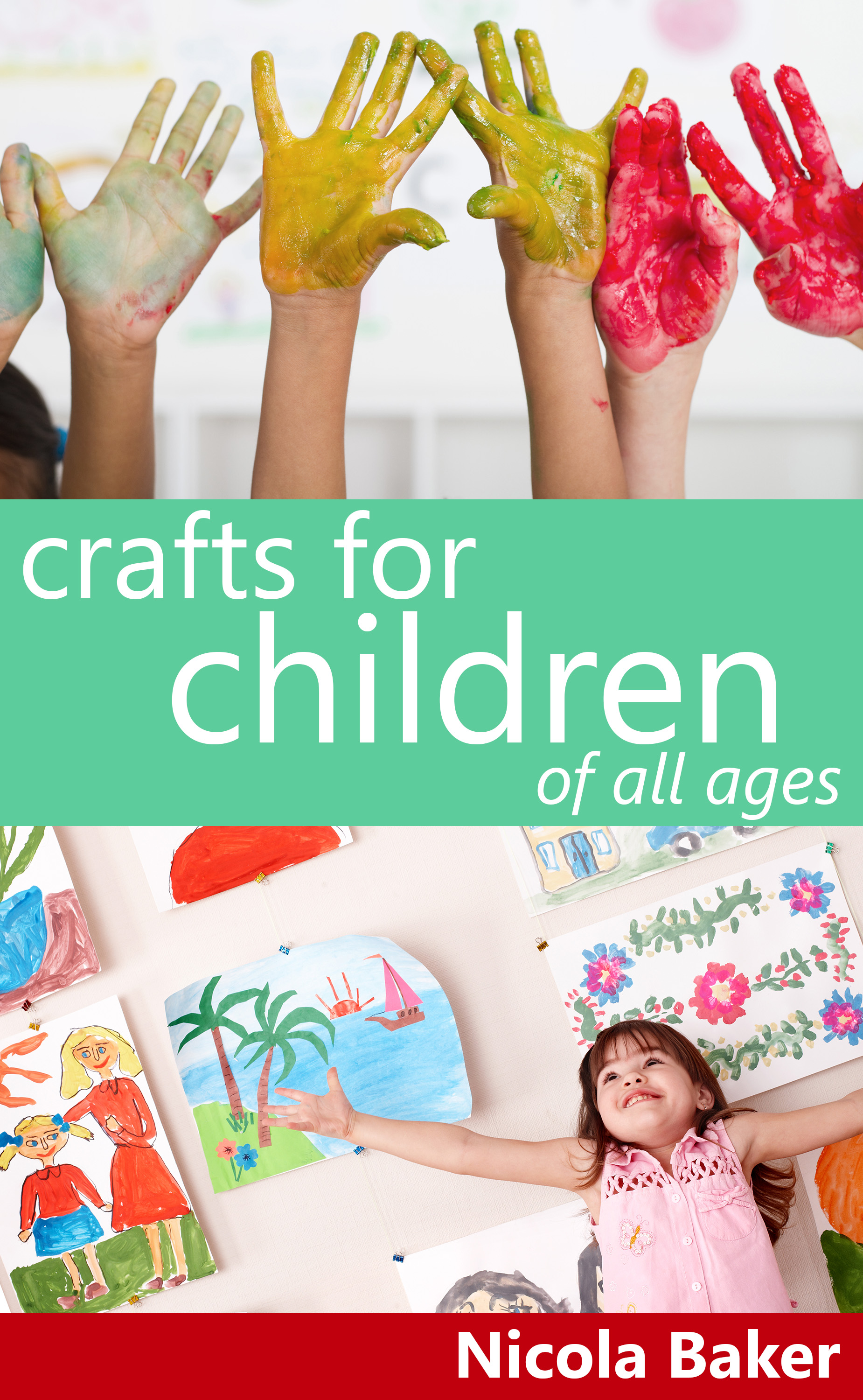 Handmade by nicola baker for Fun crafts for kids of all ages